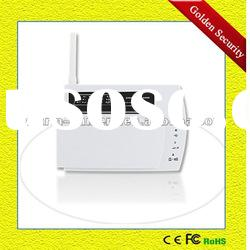 Smart auto dial burglar alarm system PSTN with phone line network GS-T04A