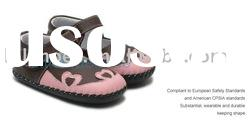 Spring Design Soft Sole leather baby shoe LBL-BB7001BR