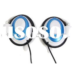 Stereo earphone for ipad 2 with ergonomic earclip with 3.5mm Stereo Plug, Speaker diameter: 30mm