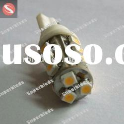 T10 3528 15SMD 12V 1W white color auto led lamp or drl car bulbs