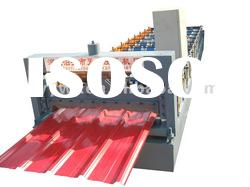 TY24-210-840 Automatic PPGI corrugated roof sheet roll forming machine for steel
