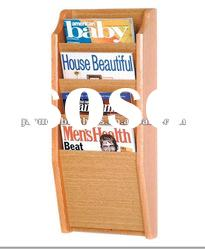 The popular magazine MDF display rack