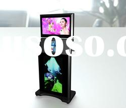 Three monitors self service terminal /advertising /touch screen kiosk