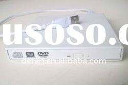 USB 2.0 External DVD-RW Burner Drive For Acer Aspire One A150 white