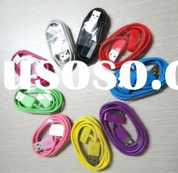 USB DATA CHARGER CABLE CORD FOR iPod Touch 2 3 4 2G 3G 4G Gen Colorful/K024