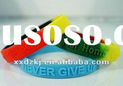 Very nice customize silicone rubber bracelets