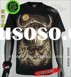 WHOLESALE KING T SHIRTS GR-423 GLOW IN DARK T-SHIRTS