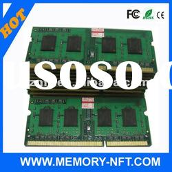 Wholesale 2GB 4GB DDR3 1333MHZ RAM memory module Laptop
