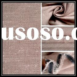 Yarn Dyed Cotton Linen Interweave Fabric