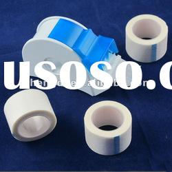 adhesive medical non-woven tape with dispenser