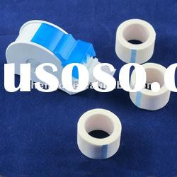 adhesive medical tape with dispenser