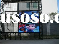 advertisement outdoor full-color P16 led display led
