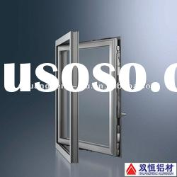 aluminium casement window frame