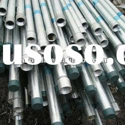 astm a53 threaded end galvanized steel pipe