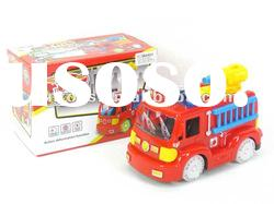 battery operated fire engine with light and music,with EN71,EN62115,EN60825
