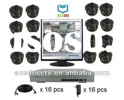cctv DVR system package/CCTV recording system package
