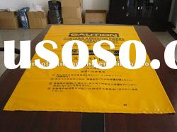 cheap plastic garbage bags with printing