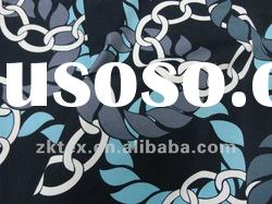 cotton/spandex iron chain printed fabric,cotton sateen print fabric