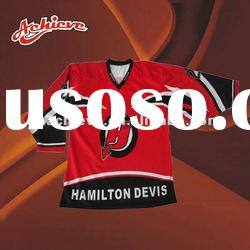 custom made ice hockey jerseys with full polyester
