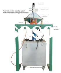 electrostatic powder coating automatic sieving machine