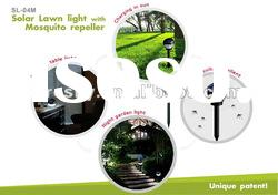energy saving lamp solar led garden light mosquito repellent lamp