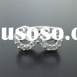 fashion diamond rings jewelry silver rings wholesaler bridal rings supplier