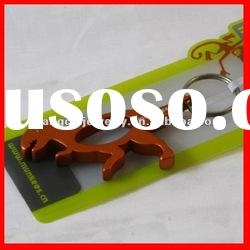 fashion dinosaur keychain beer bottle opener key chain