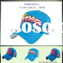 fashion style washed cotton embroidery baseball caps ccap-0158