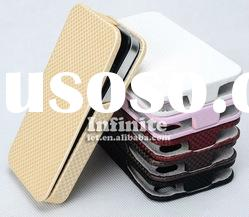 for iPhone 4 Flip Leather Case