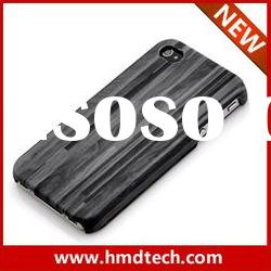 for iphone case for iphone4 leather case wood mobile phone cover