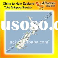 freight agent China to Napier,New Zealand