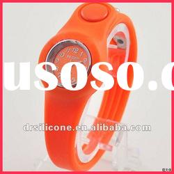 geneva waterproof silicone ion watches