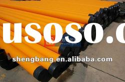 hdpe gas pipe with yellow stripe