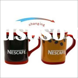 heating color changing promotional item mugs and cups