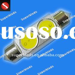 high power smd 2W auto led festoon lights