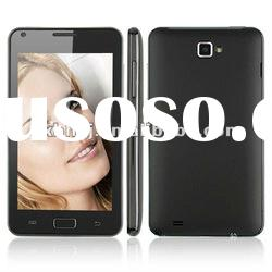 i9220 Smart Phone Android 4.0 OS MTK6575 1.0GHz 3G TV GPS WiFi 5.0 Inch- Black