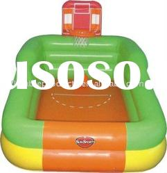inflatable water basketball game pool