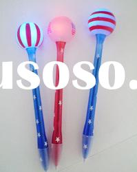 led light pen with ball
