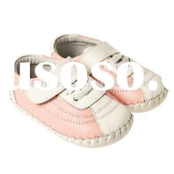 little girls baby shoes,genuine leather LBL-BB21003PK