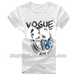 men's fashion t-shirt 100% cotton men's t-shirt