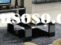 modern glass square coffee table KC912B