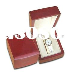 new design single wooden watch box