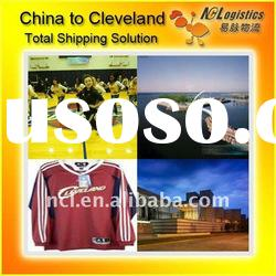 nvocc freight forwarder China to CLEVELAND,OH,USA