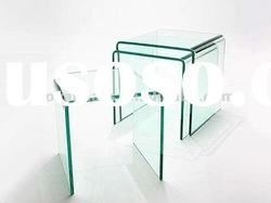 office glass table, Glass furniture, glass coffee tables, glass console