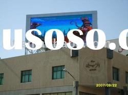 outdoor LED comercial advertising display