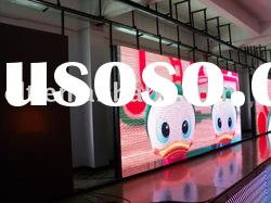 outdoor full color video LED comercial advertising