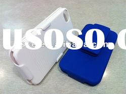 plastic Slide Case with Belt Clip for iPhone 4 4S