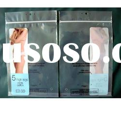 plastic pack zipper bag for pants