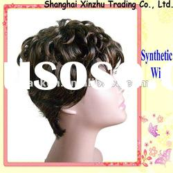 short curly synthetic wigs for sale SW-078