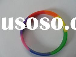 silicone bracelet (mixed color)